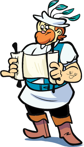 Sketchy Scroll Guy